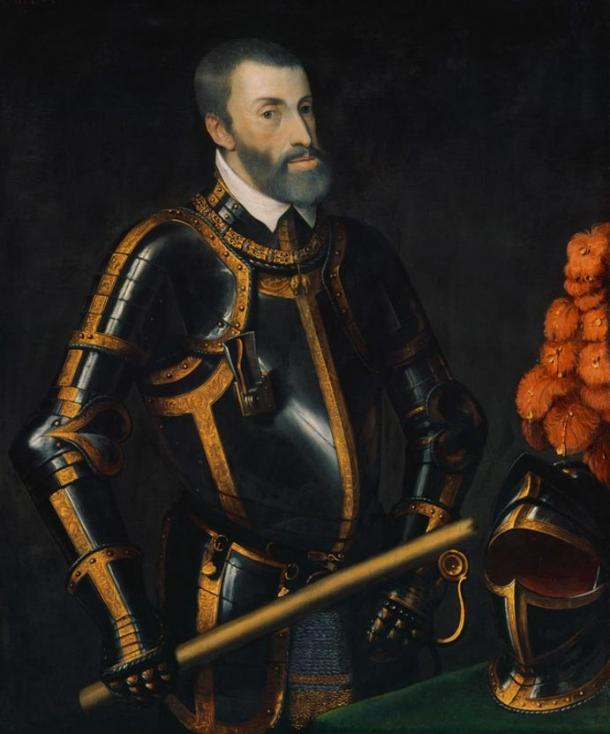 Portrait of Charles V