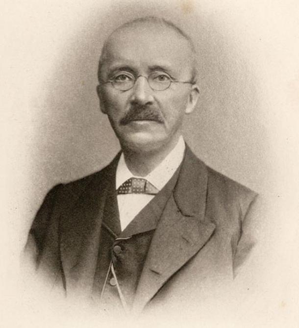 Portrait of Heinrich Schliemann