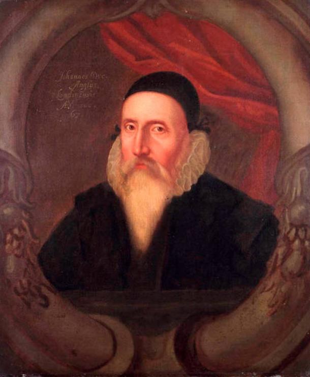 Portrait of John Dee