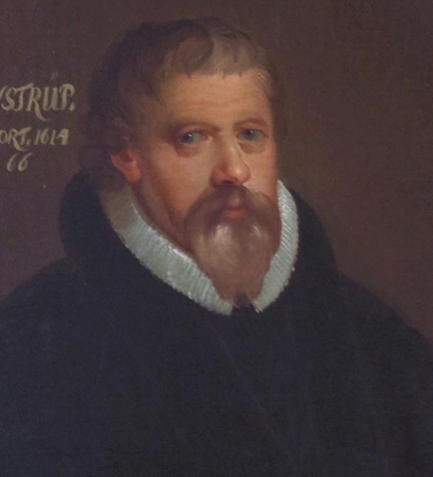 Portrait of Peder Jensen Winstrup, 1750