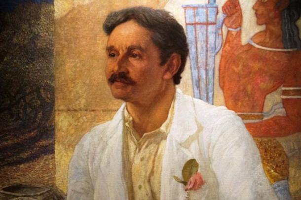 Portrait of Sir Arthur Evans by William Richmond, 1907 (Ashmolean Museum)
