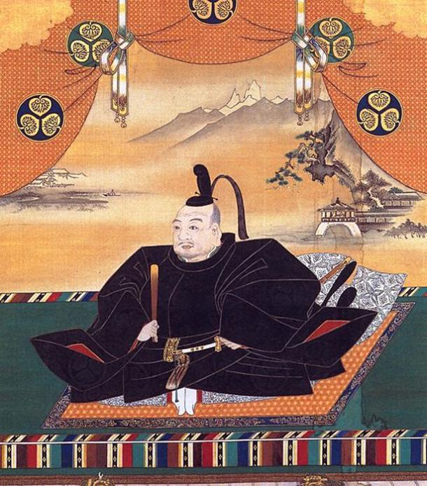 Portrait of Tokugawa Ieyasu from Osaka Castle. (Public Domain)