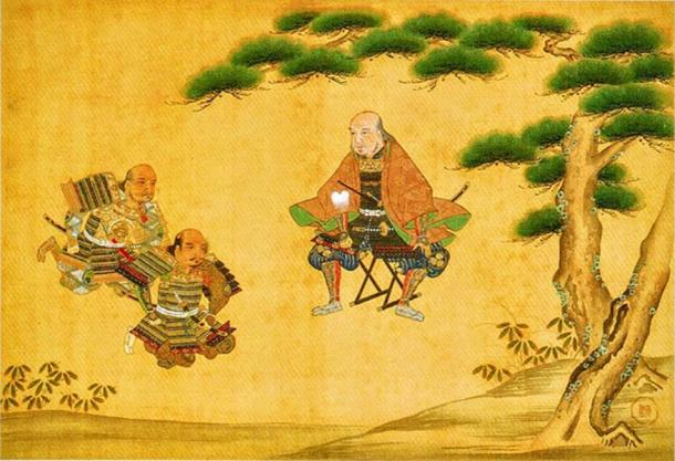 Portrait of Tokugawa Ieyasu at the Battle of Nagakute. (Public Domain)