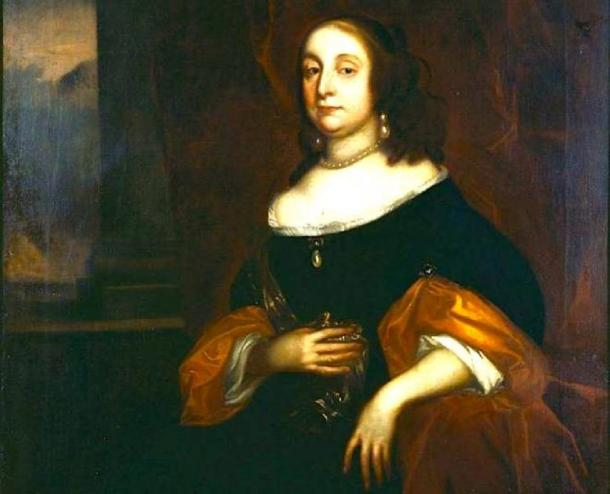 Portrait of Oliver Cromwell's wife Elizabeth Bourchier. (Franzy89 / Public Domain)