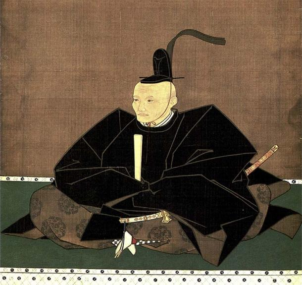A 1644 portrait of Tadatoshi Hosokawa, who ordered the final batch of Japanese wine. (日本語: 矢野吉重(大渕玄弘賛) English: Yano Yoshishige (Inscription by Ōbuchi Genkō) / Public domain)