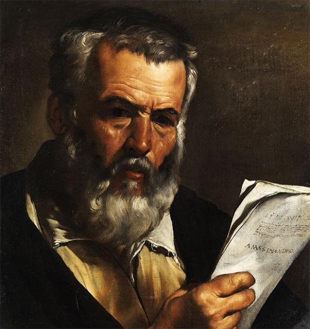 Portrait of the ancient Greek astronomer Anaximander. (Pietro Bellotti / Public domain)