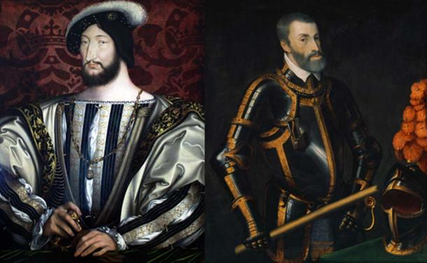 Portraits of rivals Francis I