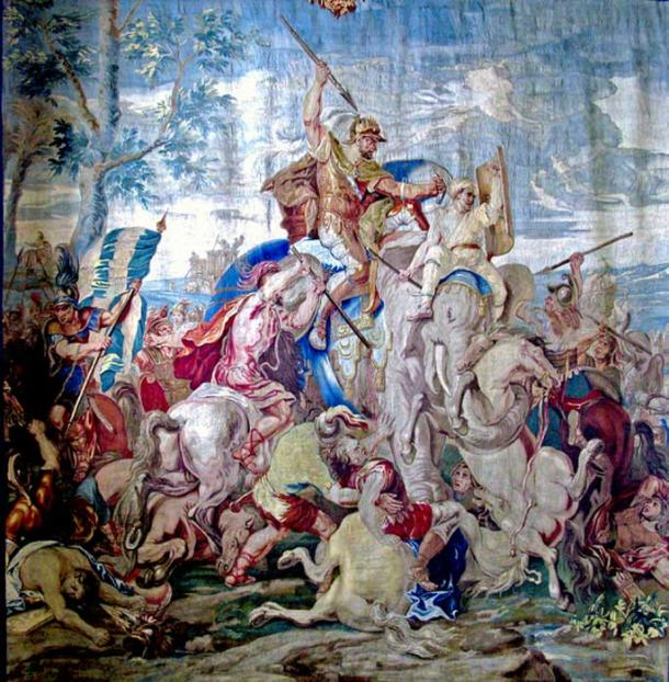 Porus at the Battle of the Hydaspes. (CC BY 3.0)