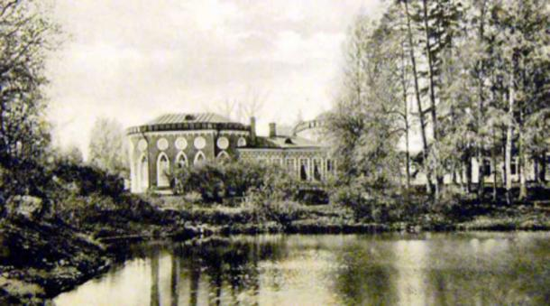 Babolovo Palace, PostCard of beginning of 20th century.