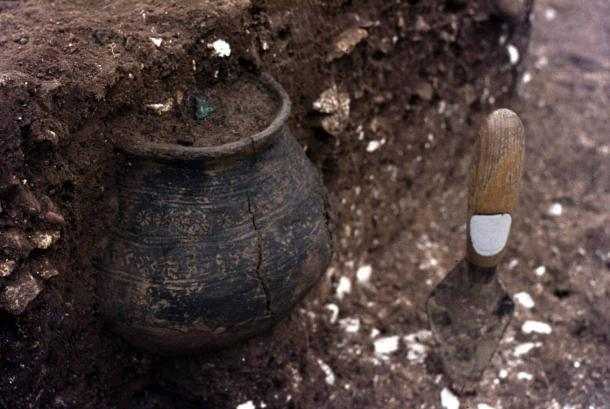 Representational image: Pot filled with cremated human bones recently found in another part of England