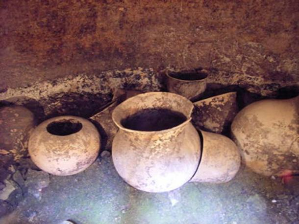 Pottery artifacts from National Archaeological Park of Tierradentro (Photo by Inyucho)