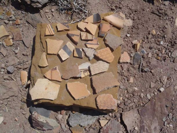 Pottery from Homolovi Ruins State Park. (CC BY-SA 2.0)