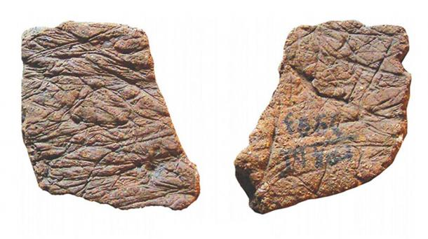 Pottery shards found at Gromatukha site. (Image: Oksana Yanshina/ Science Direct)