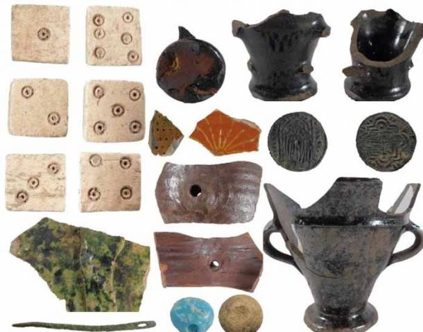 Multiple pieces of evidence from first century pottery, plus bones and tiles have been excavated. (Cadw)