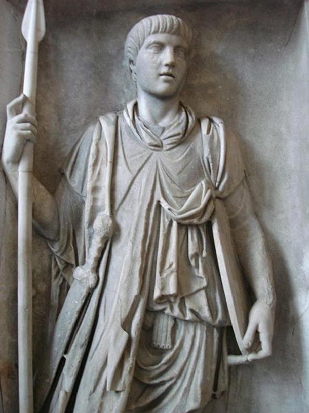 Statue of a Praetorian Guard.