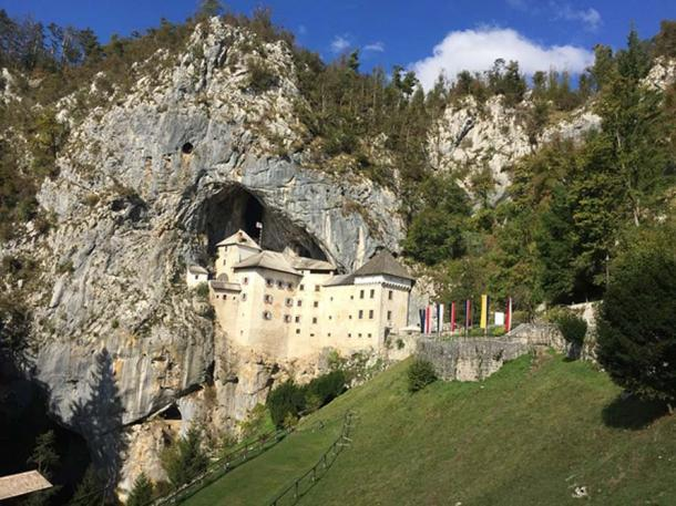 Predjama Castle, Slovenia.