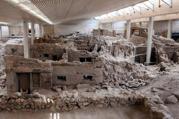 Prehistoric Settlement of Akrotiri, Santorini