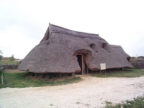 Prehistorical pit-house Archaeological Park of Százhalombatta (Public Domain)
