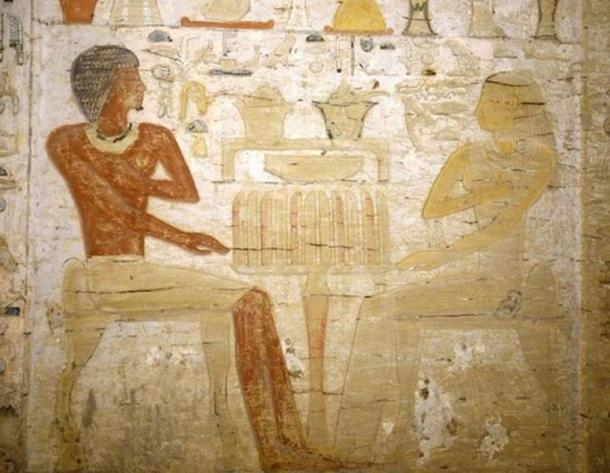 Priests were important people in ancient Egyptian society. (Egyptian Ministry of Antiquities)