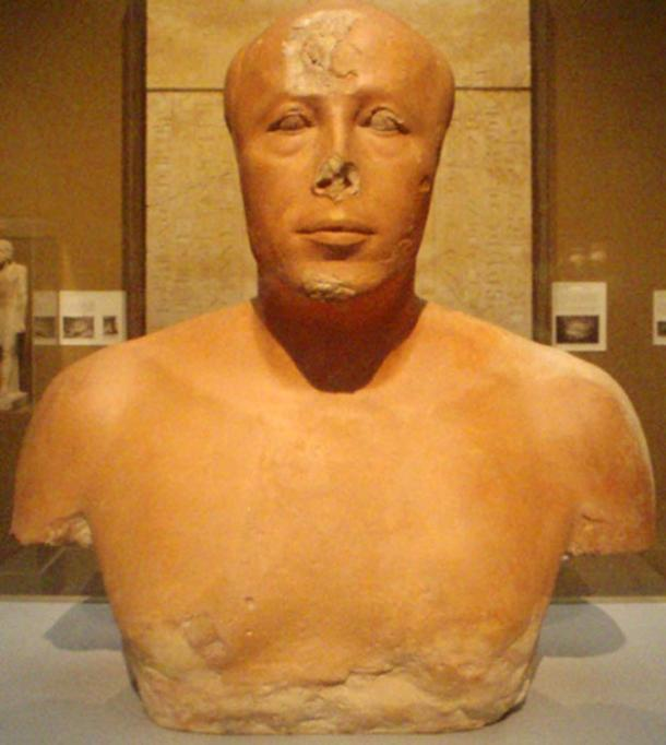 Bust of Prince Ankhhaef, Khufu's half-brother and vizier.