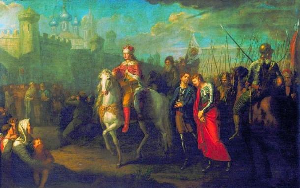 Prince Alexander Nevsky after victory in Pskov. (Berillium / Public Domain)