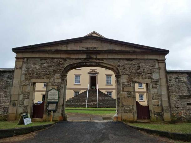 Prison structures for convicts on Norfolk Island (Denisbin / CC BY 2.0)