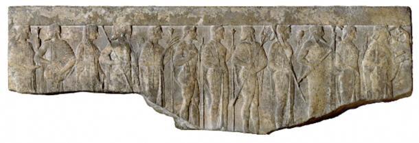 Procession of Twelve Gods and Goddesses.