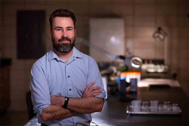Professor Andrew Somerville of Iowa State University led the recent study of the remains found in a Mexican cave that challenges the current theory of the first humans in the Americas. (Christopher Gannon / Iowa State University)