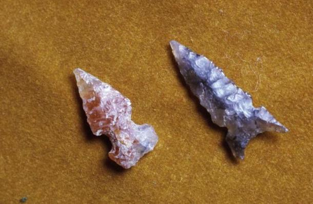 Projectile points from Arroyo Hondo.