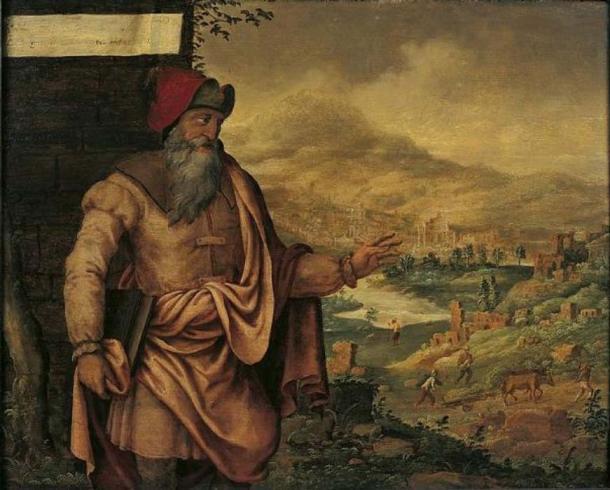 'Prophet Isaiah predicts the return of the Jews from exile' (1560-1565) by Maarten van Heemskerck. (Public Domain)
