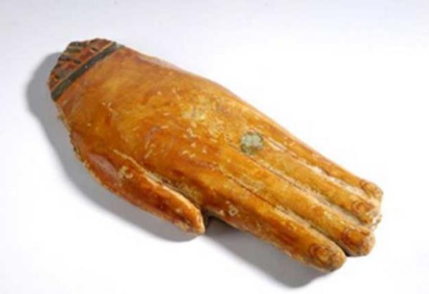 Prosthetic hand from ancient Egypt