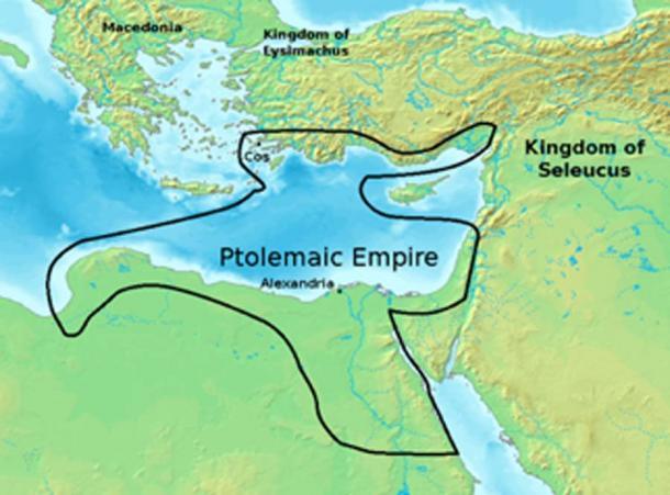 Ptolemaic Empire circa 300 BC. (Eubulides / CC BY-SA 3.0)