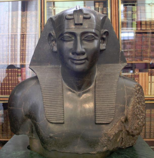 Ptolemy as Pharaoh of Egypt, British Museum, London.