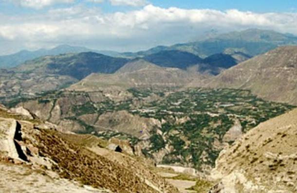 The Pucará de Rumicucho, Southern View, San Antonio de Pichincha, Ecuador