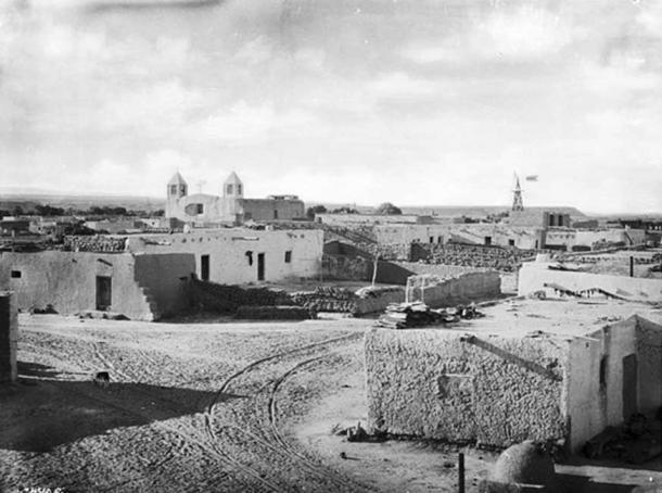 Pueblo de Isleta, New Mexico, 1898