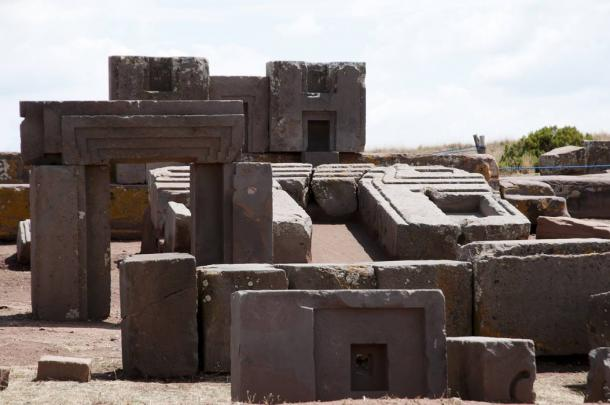 Stone blocks at Puma Punku, Bolivia. (Adwo /Adobe Stock)