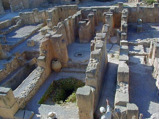 District of Punic Byrsa in ancient Carthage, Tunisia.