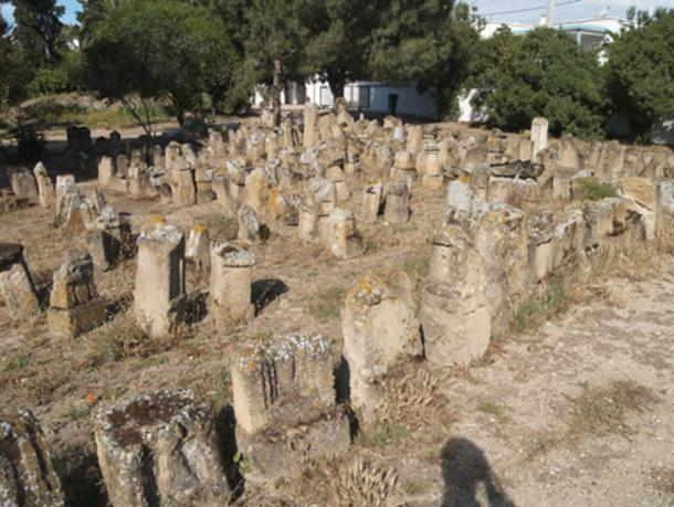 Punic cemetery at Carthage where evidence of infant burial is found. (Institute for the Study of the Ancient World / CC BY-SA 2.0)