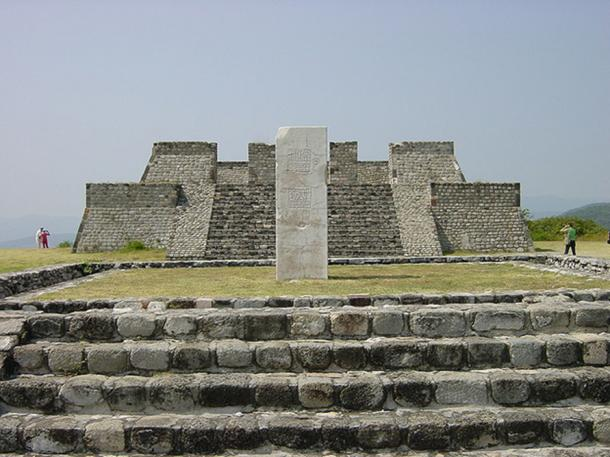 The Pyramid at Xochicalco