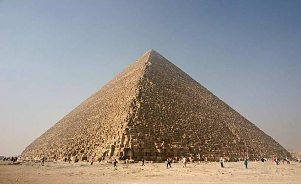 The Pyramid of Khufu, or Great Pyramid