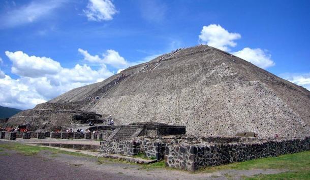 Pyramid of the Sun, Monte Alban