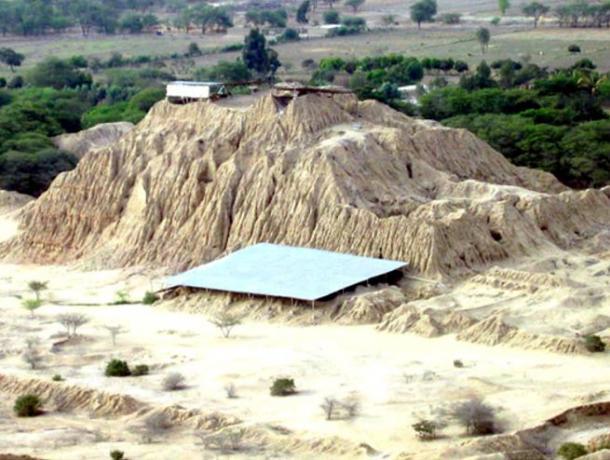 Pyramids at Túcume, a Lambayeque city