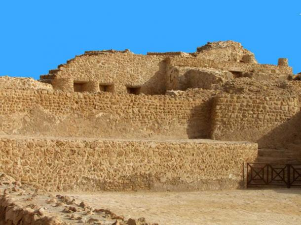Qal'at al-Bahrain, the 'ancient harbor and capital' of the Dilmun civilization.