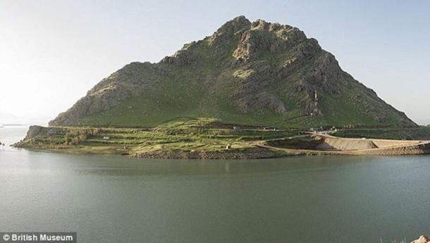 Qalatga Darband, Iraqi Kurdistan where the ancient remains have been found
