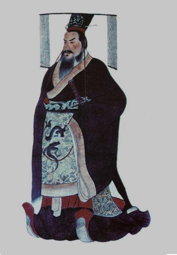Qin Shi Huang, the first emperor of China