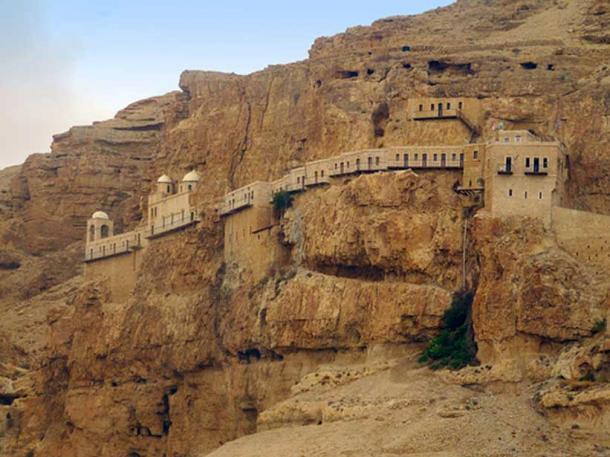 Quarantal Monastery, Jericho, Palestine.