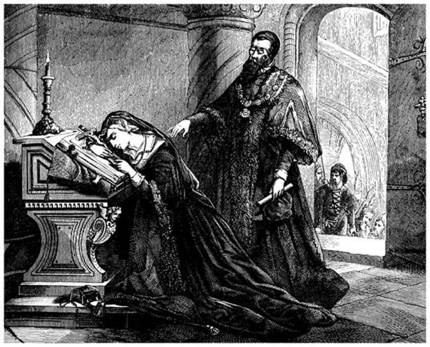Queen Anne before Decapitation - 16th century. (Erica Guilane-Nachez / Adobe)