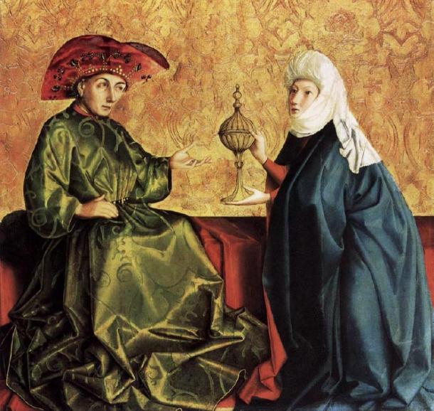 The Queen of Sheba was impressed by the wisdom of King Solomon. (JarektUploadBo / Public Domain)