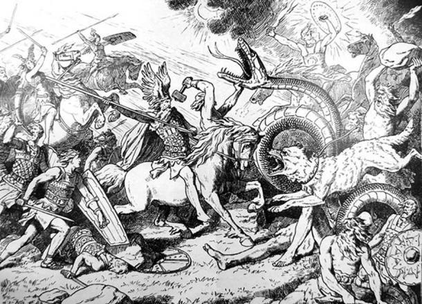 Ragnarok. Johann Gehrts. (Public Domain)