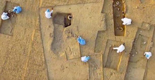 Rakhigarhi archaeological site, India. (Homeric Origins / YouTube)